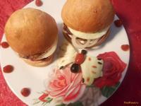 Рецепт Домашний гамбургер с аджикой рецепт с фото