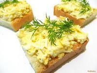 Рецепт Бутерброд с вареным яйцом рецепт с фото
