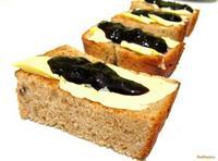 Рецепт Тосты быстрые из ржаного хлеба рецепт с фото