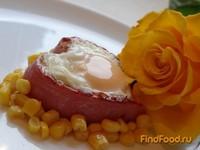 Рецепт Завтрак влюблённого рецепт с фото