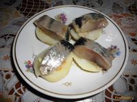 Рецепт Простая закуска из сельди и картофеля рецепт с фото