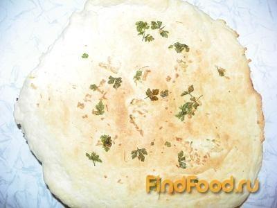 Рецепт Домашний лаваш с зеленью и чесноком рецепт с фото