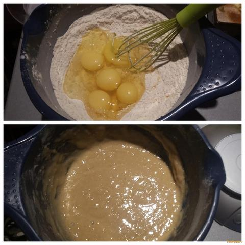 Шарлотка с яблоками с медом рецепт с пошагово
