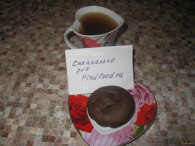 Рецепт Шоколадные кексы на сыворотке рецепт с фото