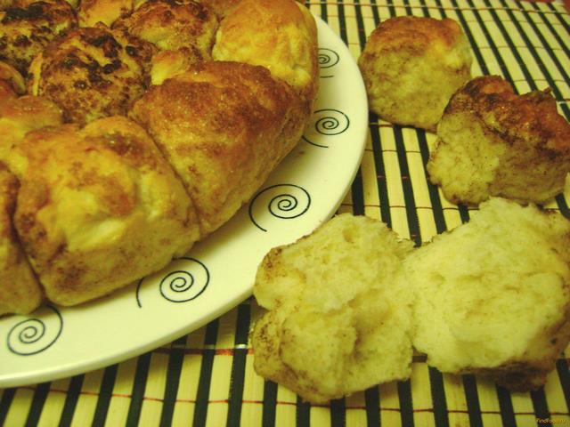 Рецепт Обезьяний хлеб с корицей рецепт с фото