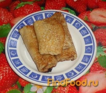 Рецепт Блины с тыквой рецепт с фото