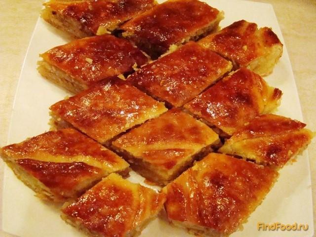 Рецепт Пахлава азербайджанская рецепт с фото