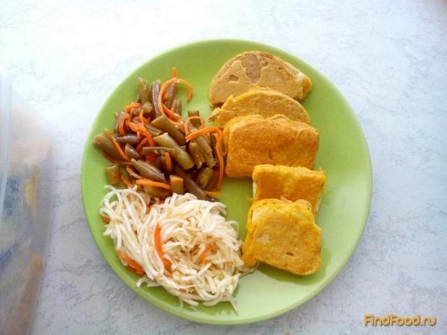 Рецепт Сыр тофу в кляре рецепт с фото