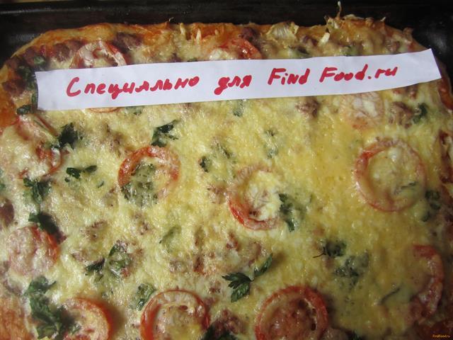Рецепт пицца с фаршем и домашним майонезом рецепт с фото