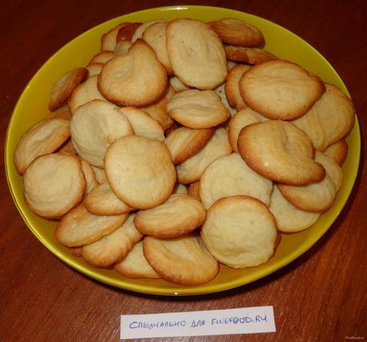 Песочное печенье сливочное рецепт