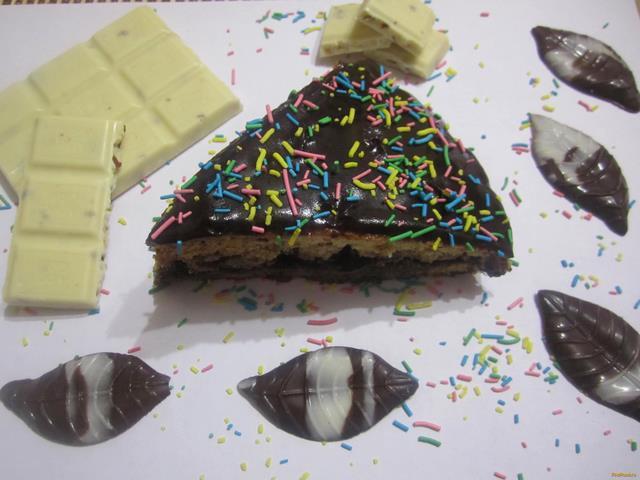 Рецепт Торт шоколадное наслаждение рецепт с фото