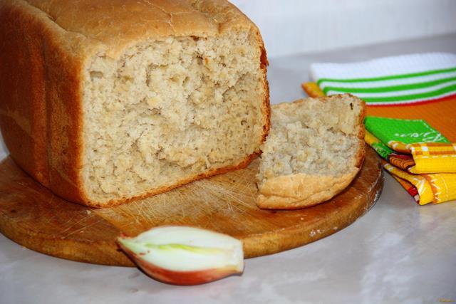 Рецепт Французский луковый хлеб в хлебопечке рецепт с фото