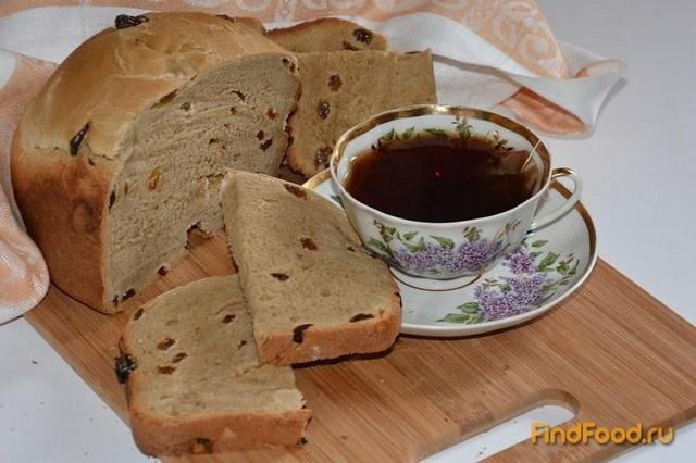 Рецепт Кофейный хлеб к чаю в хлебопечке рецепт с фото