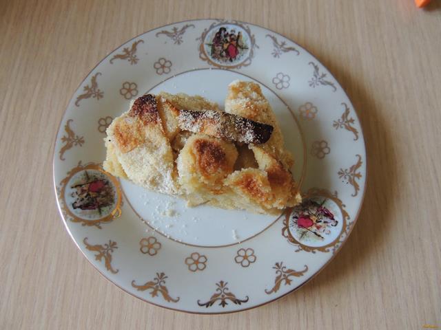 Рецепт Быстрый пирог из сухого теста рецепт с фото