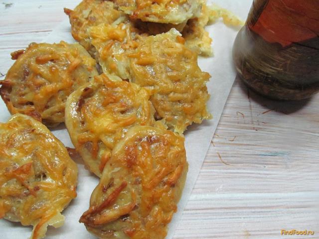 Рецепт Рулеты из картофельного теста с мясной начинкой рецепт с фото