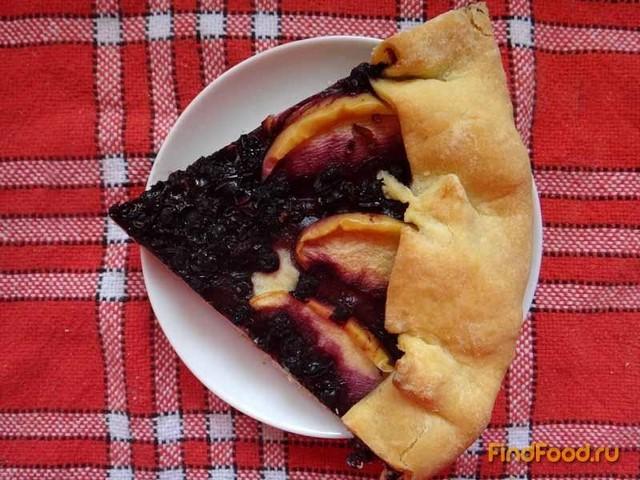 Рецепт Чернично-яблочный тарт рецепт с фото