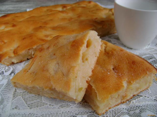 Пирог из фруктового йогурта рецепт с