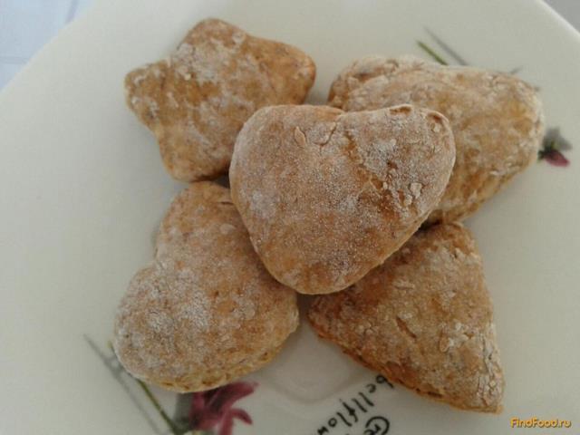 Рецепт Медовое печенье из банана рецепт с фото