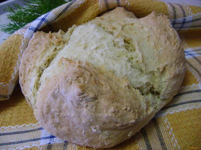 Рецепт Содовый хлеб с овсяными хлопьями рецепт с фото