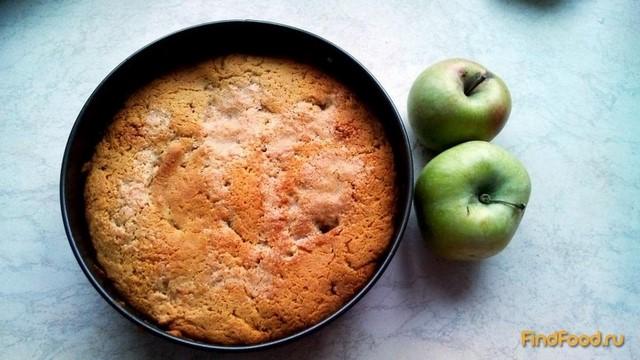 Рецепт Закрытый яблочный пирог рецепт с фото