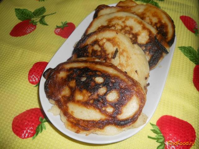 Рецепт Оладьи с начинкой из капусты рецепт с фото