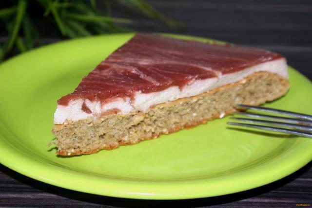 Рецепт Низкокалорийный бананово-клубничный торт рецепт с фото