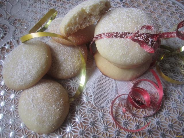 Рецепт Воздушное печенье с хрустящей корочкой рецепт с фото