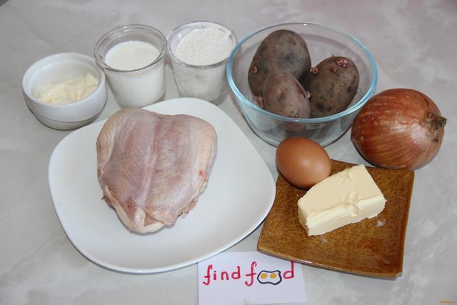 Мини курники рецепт с фото