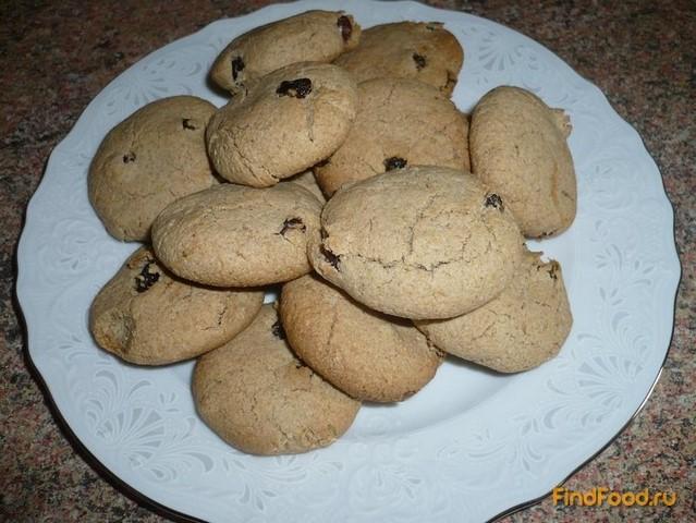 Рецепт Постное овсяное печенье с медом рецепт с фото
