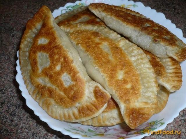 Рецепт Постные чебуреки с чечевицей рецепт с фото
