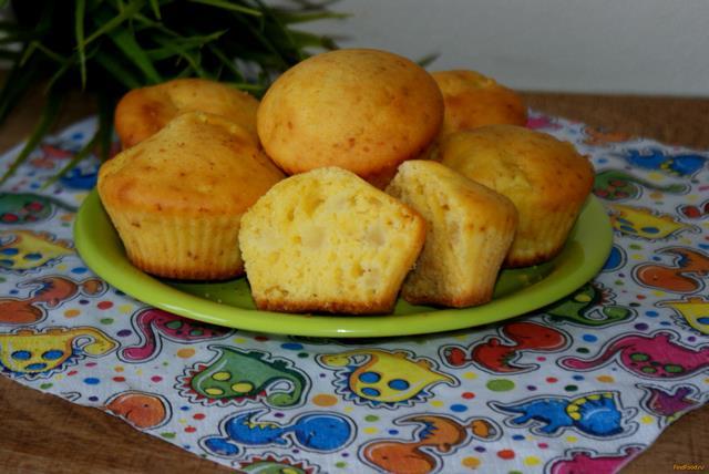 Рецепт Кукурузные маффины с яблоком рецепт с фото