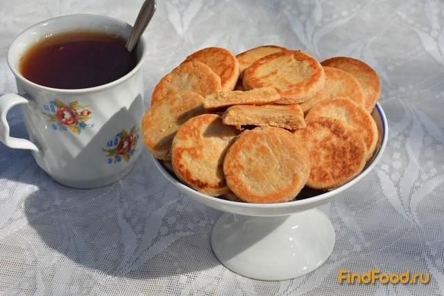 Рецепт Печенье с корицей на сковороде рецепт с фото