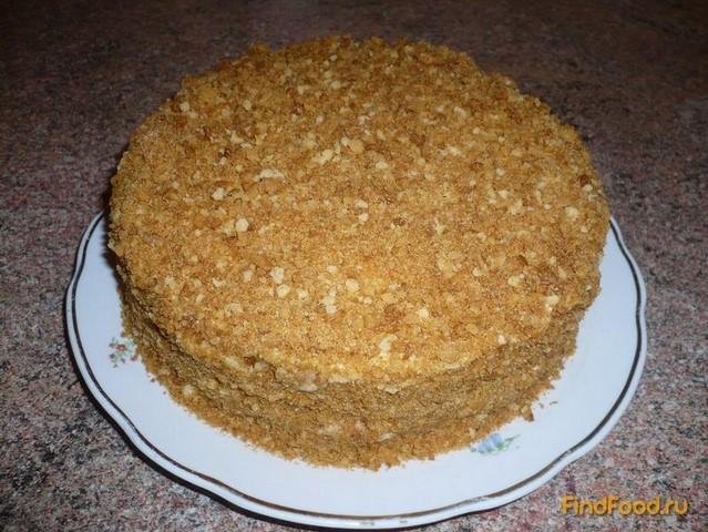 Рецепт Постный торт Медовик рецепт с фото