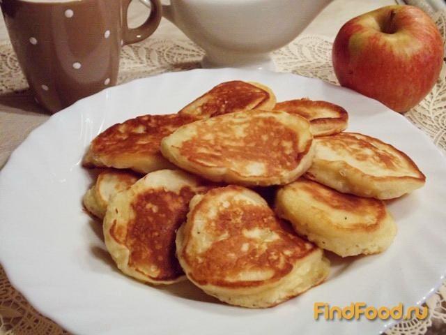 оладьи из творога и яблок рецепты с фото