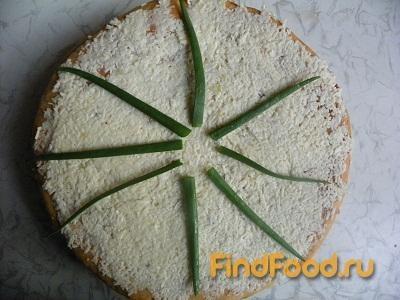 Рецепт Закусочный пирог с грибами и печенью рецепт с фото