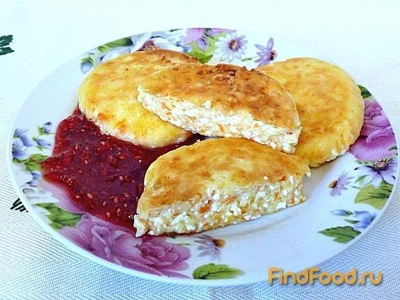 Рецепт Сырники с морковью рецепт с фото