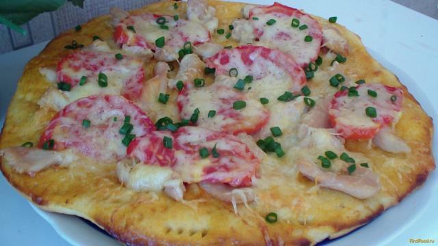 рецепт пиццы томатная паста