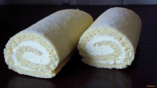 Крем для бисквитного рулета рецепты с фото