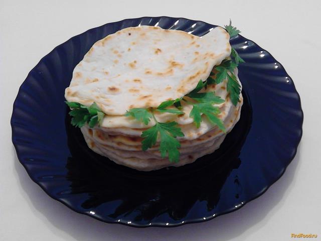 Рецепт Итальянские лепешки Пьядина рецепт с фото