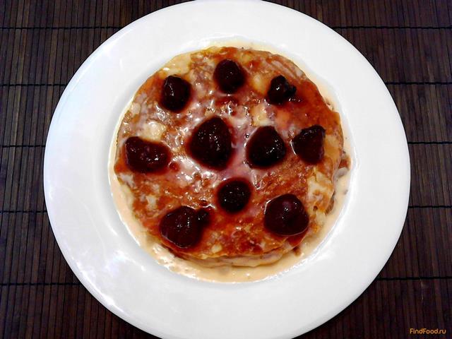 Рецепт Блинный торт со сливками и сгущенным молоком рецепт с фото