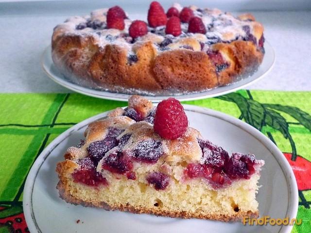 Пирог с малиной рецепты в мультиварке