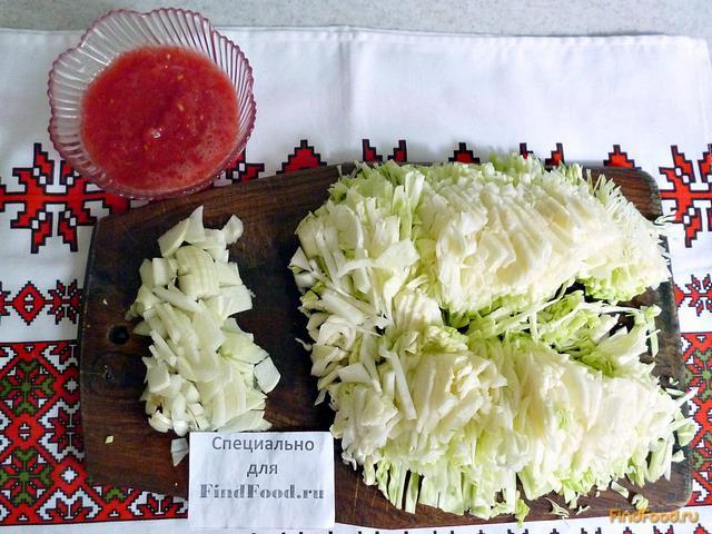 Пирог с капустой из лаваша рецепт с фото 2-го шага