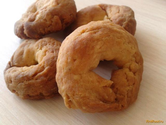 Рецепт Песочные калачи на сметане рецепт с фото