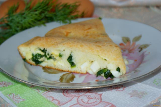 заливной пирог с луком и яйцом рецепт с фото на майонезе