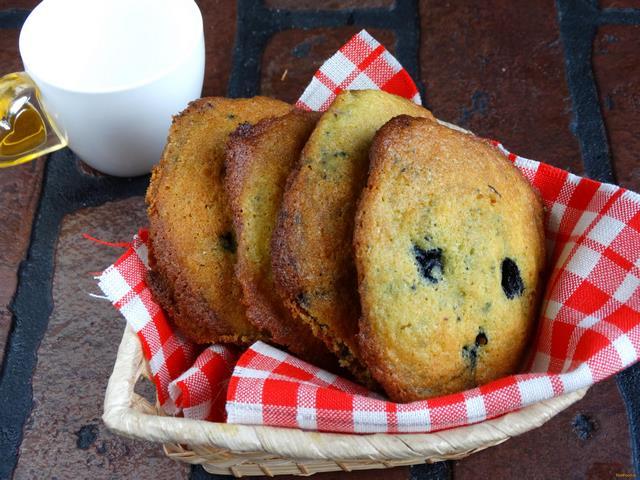 Рецепт Кукурузно - черничное печенье рецепт с фото