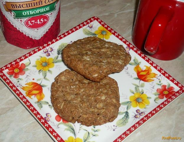 Рецепт Ржаные лепешки с овсяными хлопьями рецепт с фото