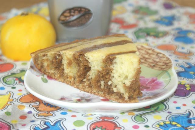 Рецепт Лимонно - кофейный манник рецепт с фото