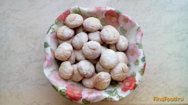 Рецепт Творожное печенье с лимонным ароматом рецепт с фото
