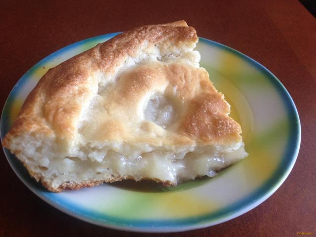 Рецепт Грушевый пирог из дрожжевого теста рецепт с фото