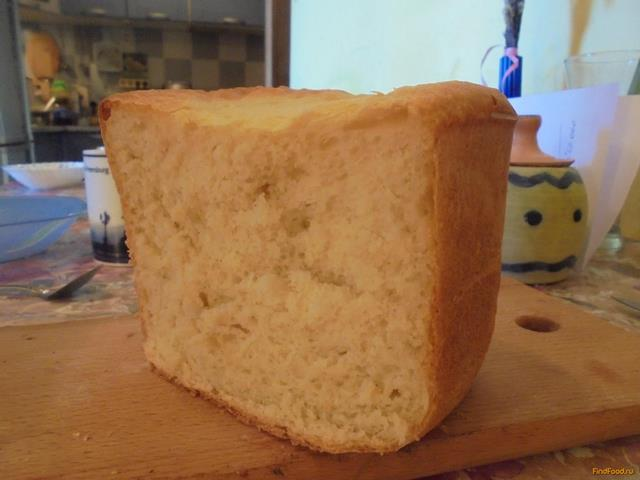 Рецепт Мягкий белый хлеб в хлебопечке рецепт с фото